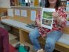 Kulturni dan: 2. a v knjižnici