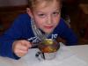 Tradicionalni slov. zajtrk z obiskom bivšega učenca g. Marjana Krepeka