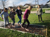 Urejanje čutne poti in šolskega vrta
